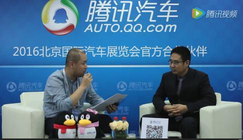 2016北京车展:访北京捷亚泰集团古亚雷