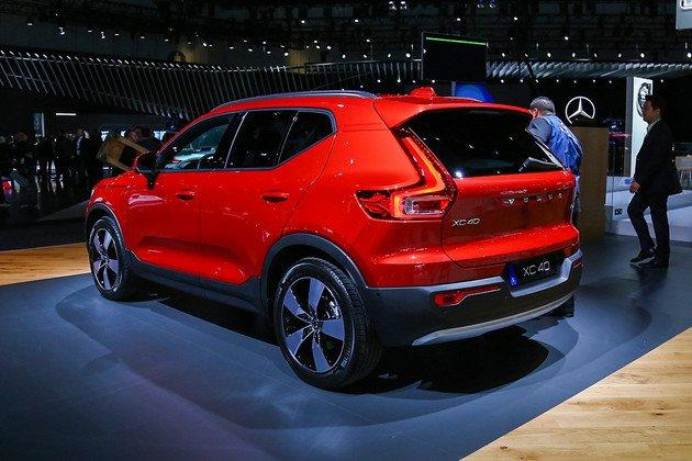 沃尔沃也要冲击紧凑车市场了 XC40将于今年内推出