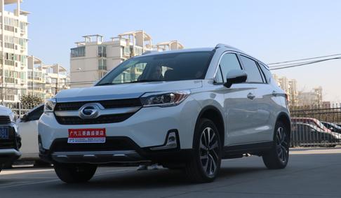 广汽三菱首款合资插电式SUV—祺智