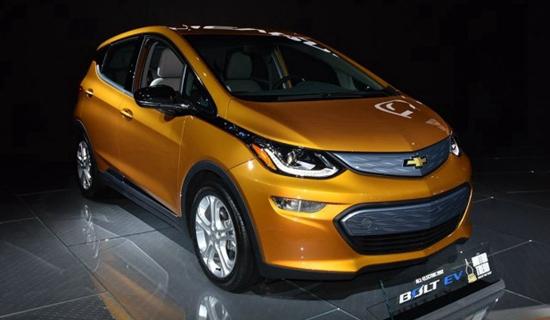 发力新能源 雪佛兰将基于Bolt推SUV车型