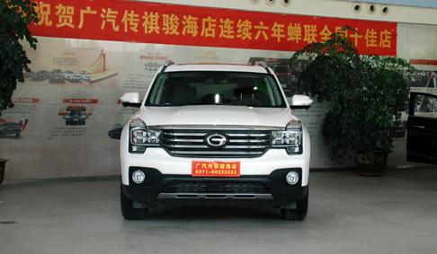 广汽传祺GS7郑州首秀 预售15.58万起