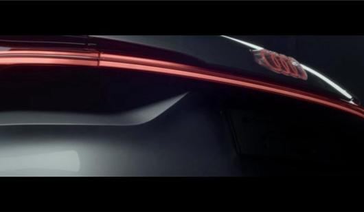 尾灯太炫酷 奥迪发布全新概念车预告图