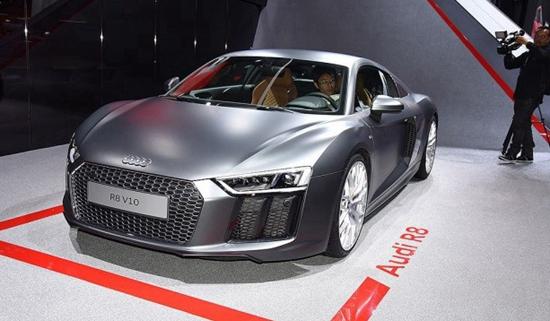 售215.80万元起 奥迪R8 V10新车型上市