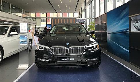 2017杭州金昌辰宝全新BMW 5系li