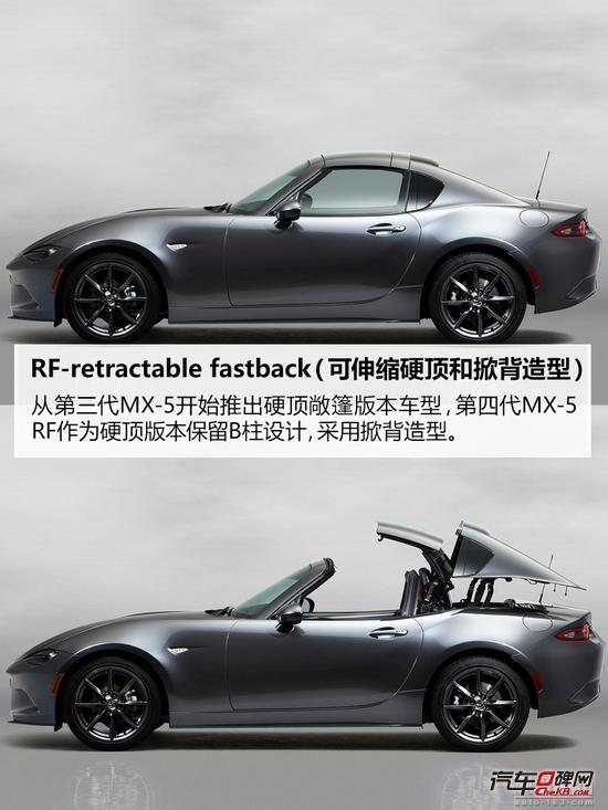 大眼萌变小酷哥 实拍马自达MX-5 RF