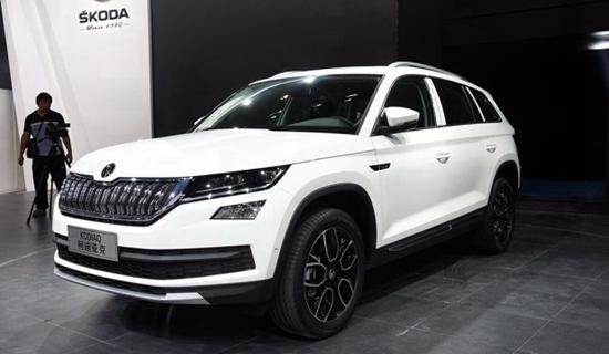 同期推新概念车 斯柯达柯迪亚克4月上市