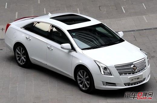 凯迪拉克xts或推四款车型 2月25日上市