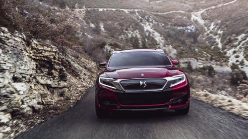 雪铁龙(Citroën)DS Wild Rubis Concept提前曝光 上海车展首发