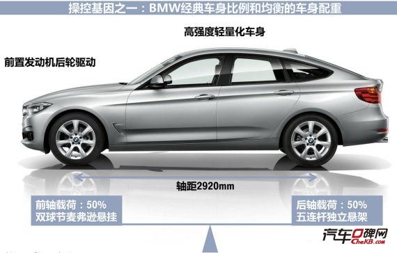 宝马3系轴距为2920mm与国产长轴距版车型一致