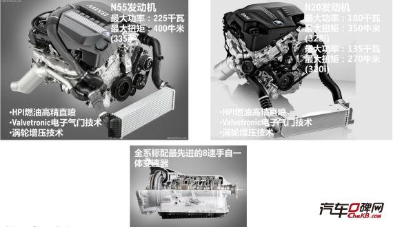 宝马3系GT采用三种发动机与8速手自一体变速箱