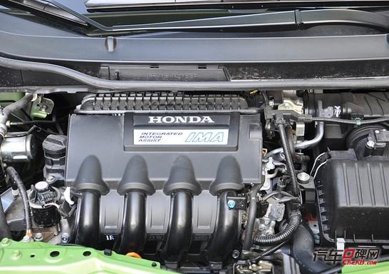 发动机加上cvt变速器的动力组合,辅以本田独有的ima混合动力系统(电机