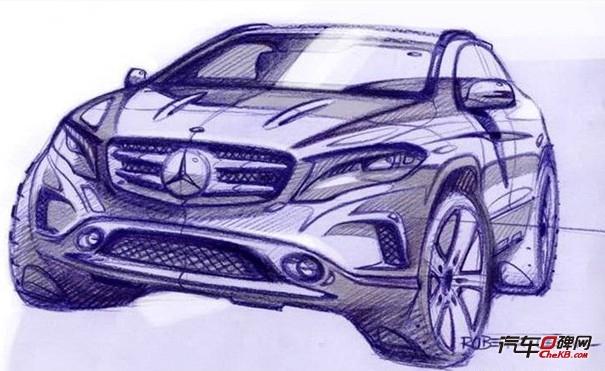 设计汽车手绘图