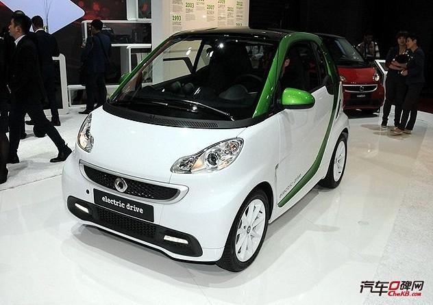 smart electric drive电动版