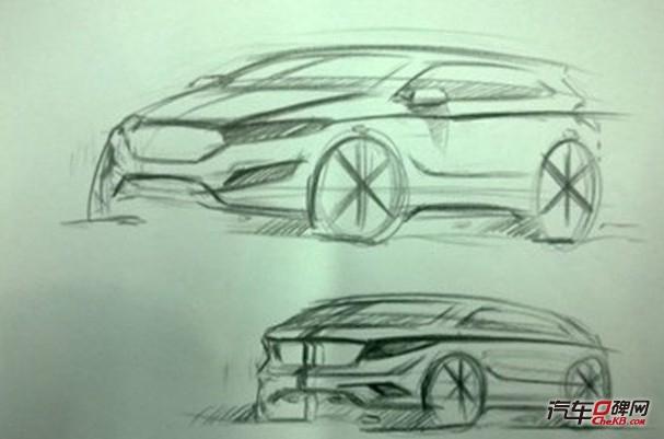 汽车内部结构素描