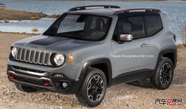 Jeep全新自由侠三门版效果图发布高清图片