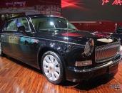 红旗L5于北京车展上市 百公里综合油耗20L