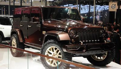 Jeep牧马人阿波罗神版