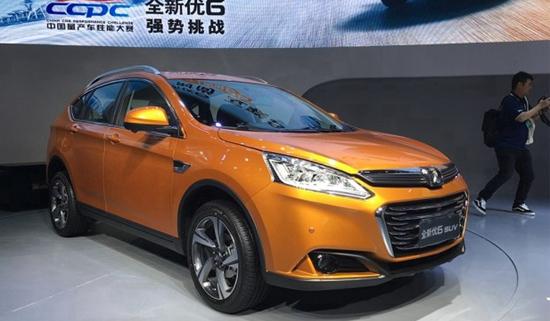 新款优6 SUV上海车展上市 售价12.98万起