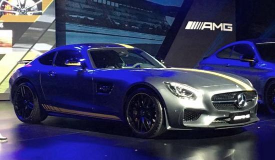 售价196.8万元 AMG GT S限量特别版上市