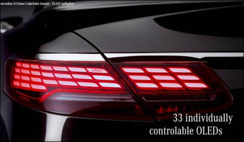 9月12日首发 新款奔驰S级敞篷版预告图发布
